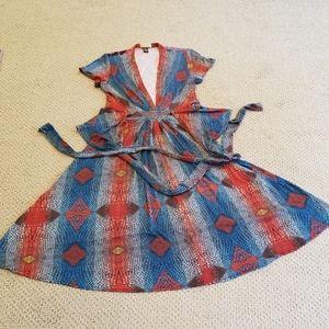 ISSA London designer wrap dress